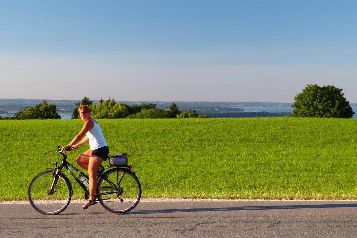Fahrradfahren - Aschau im Chiemgau