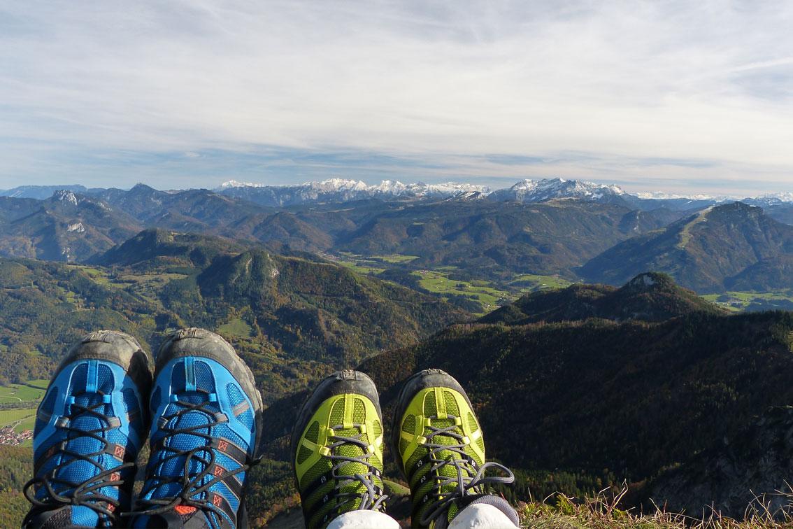 Wandern Aschau im Chiemgau